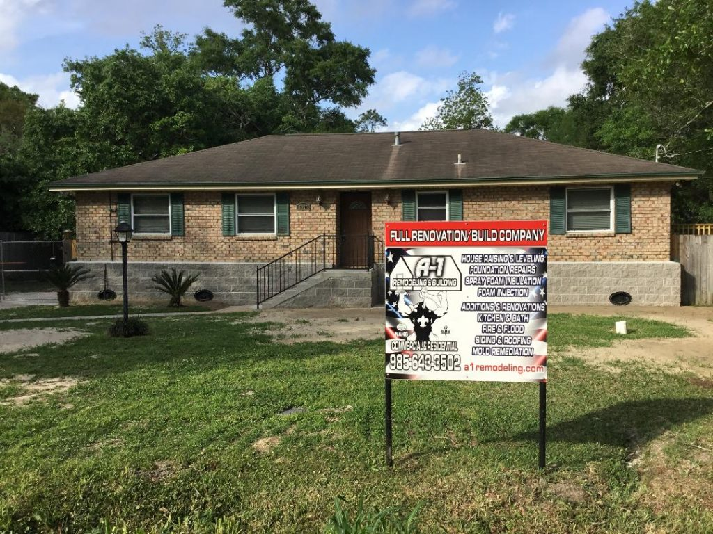 House Raising Home Elevation Grants A1 Remodeling